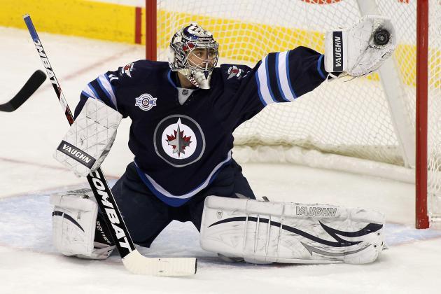 Ondrej Pavelec of Winnipeg Jets Named NHLPA Player of the Week