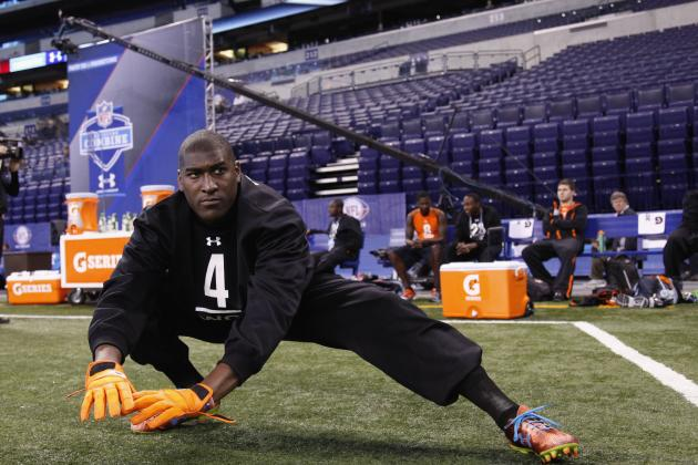 Draft Impact: Oklahoma State WR Justin Blackmon Runs in 4.4s at Pro Day