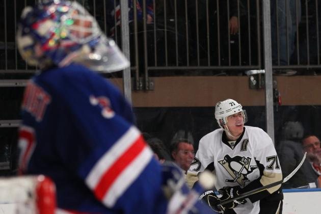 Can the Pittsburgh Penguins Catch the New York Rangers for the East's Top Seed?