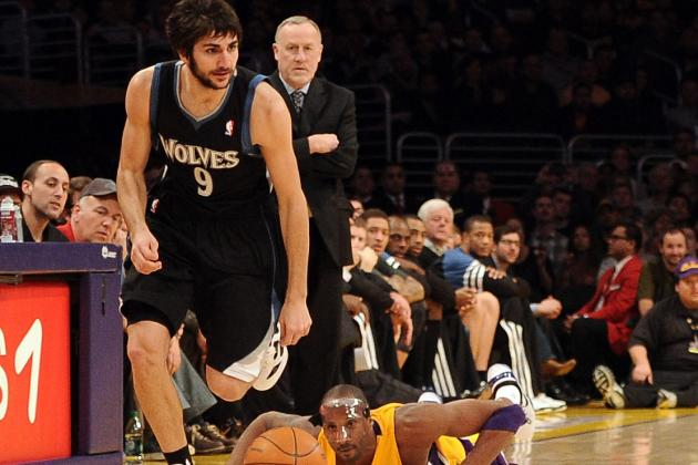 Timberwolves Lose Star Rookie Ricky Rubio to Torn ACL, Done for Year