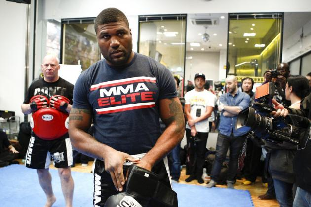 Rampage Jackson Hints at Fighting Elsewhere, Says UFC Took Away His Love of MMA
