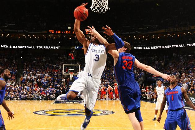 SEC Tournament 2012: Kentucky Wildcats Survive Scare Against Florida Gators