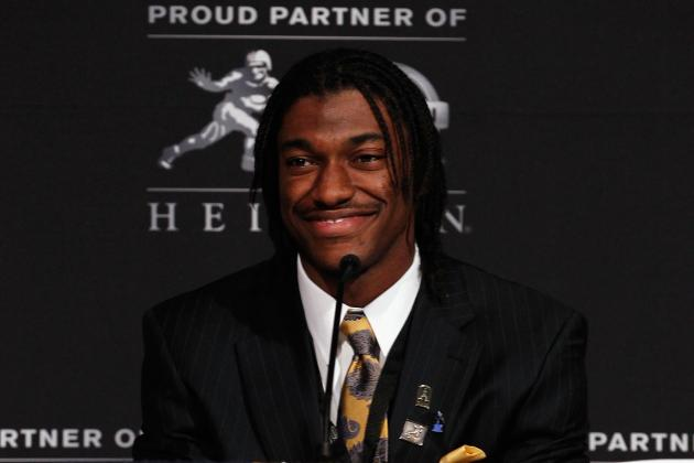 2012 NFL Draft: Washington Redskins Trade for Rights to QB Robert Griffin III