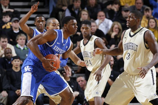 SEC Tournament 2012: Kentucky Will Survive Scare from Tough Vanderbilt Team