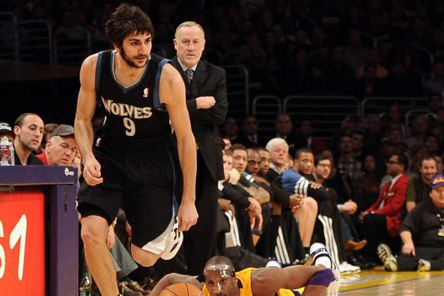 Who Will the Timberwolves Turn to After Losing Ricky Rubio for Season?