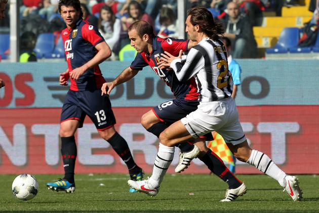 Mirko Vucinic, Andrea Pirlo Shine as Juventus Draw Genoa 0-0 in Exciting Match