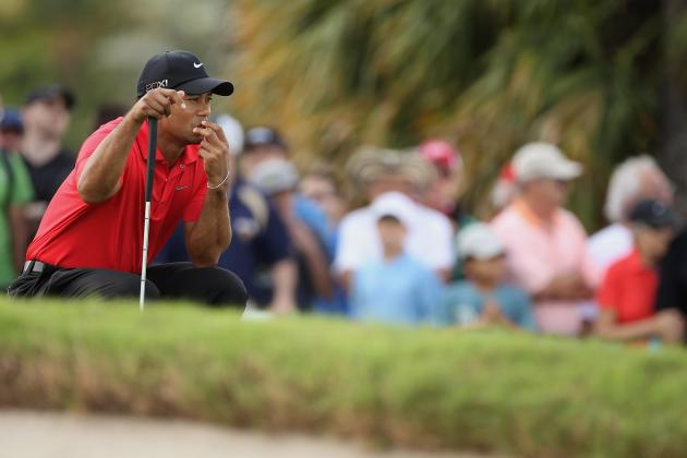 Tiger Woods Injury: Ice on Left Leg Raises Red Flags for Woods' 2012 Campaign