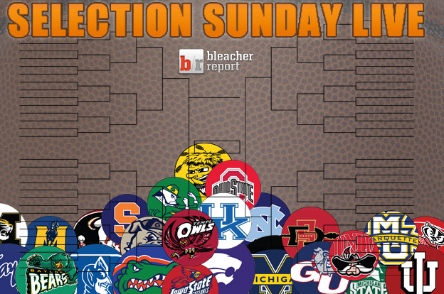 NCAA Bracket 2012: Live Reaction to This Year's Bracket Release