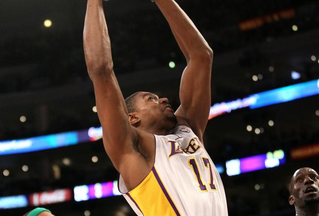 Andrew Bynum played a key part in the Lakers win today.