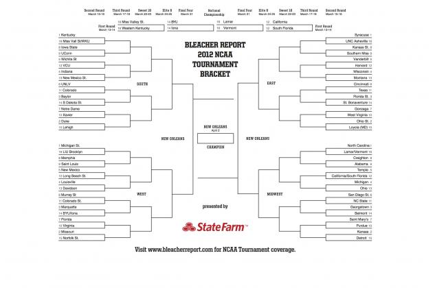 Download & Print Your NCAA Bracket