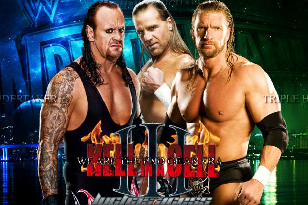 WWE RAW Loaded with Rock, John Cena, HHH, Undertaker and HBK