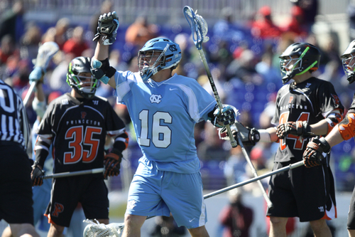 NCAA Men's Lacrosse : UNC Beats Princeton in Konica Minolta Face-off Classic