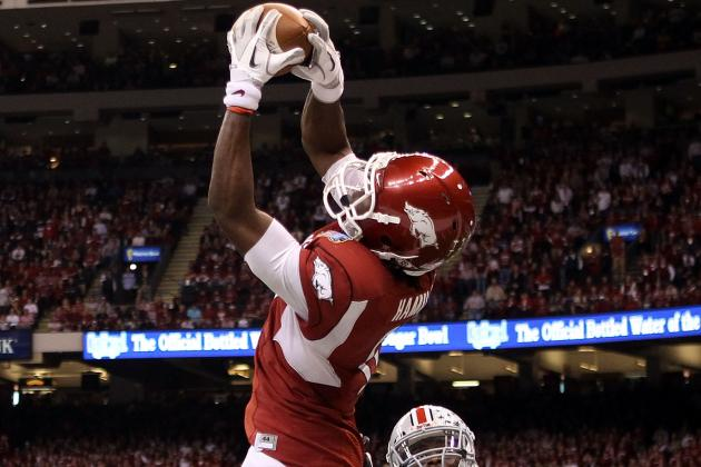 Who Will Step Up at Wide Receiver for the Arkansas Razorbacks in 2012?