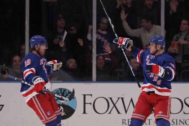 NY Rangers: Brad Richards, Marian Gaborik Finding Chemistry at Opportune Time