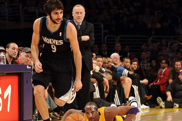 What Ricky Rubio's Injury Means for the Minnesota Timberwolves