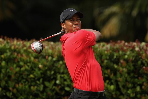 Tiger Woods: Golf Star Announces Mild Strain of Achilles