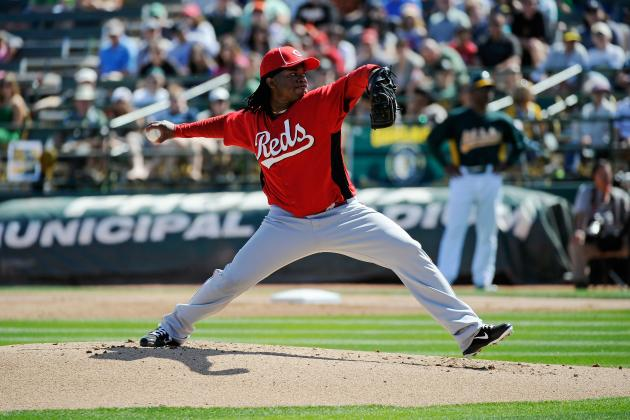 MLB Spring Training 2012: Cincinnati Reds' Johnny Cueto Leads the Way