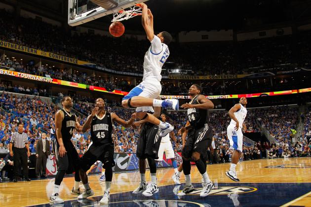 Anthony Davis: Bold Predictions for Kentucky Wildcats' Star in March Madness