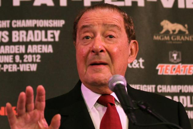Arum Upset at People Surrounding Pacquiao