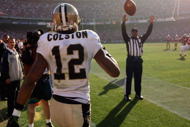 Marques Colston, New Orleans Saints Reportedly Agree on 5-Year Deal