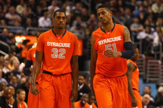 Syracuse's Fab Melo Out of NCAA Tournament: Why Orange Have No Shot at Title