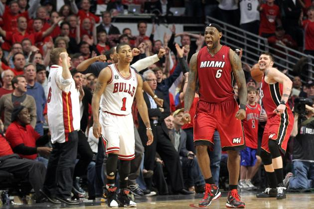 NBA Power Rankings: Are the Chicago Bulls or Miami Heat the NBA's Best?