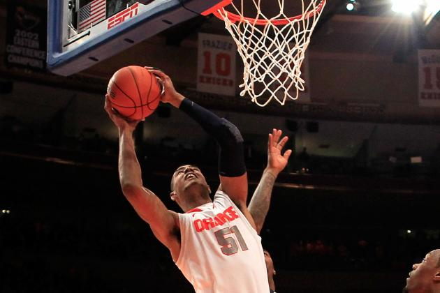 Syracuse's Fab Melo out of NCAA Tournament: How Far Can Orange Go Without Him?