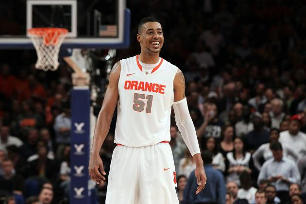 Fab Melo Out of NCAA Tournament: How Far Can Orange Go Without Their Center