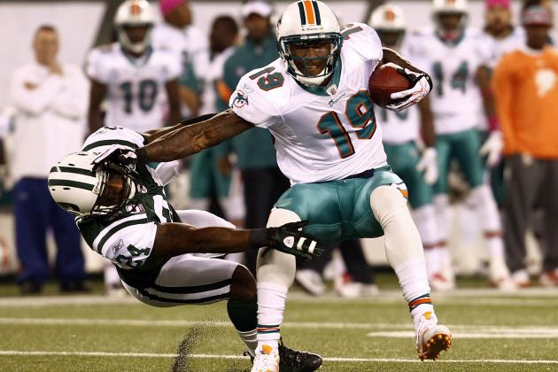 Brandon Marshall Traded from the Miami Dolphins to the Chicago Bears