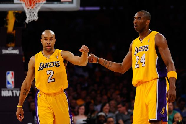 Derek Fisher Says Teammate Kobe Bryant Is the Front-Runner for NBA MVP