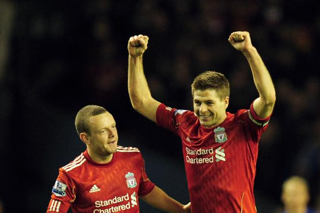 Liverpool's 2 Faces Cast a Smile over the Red Half of Merseyside