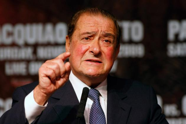 Bob Arum Angry at 70/30 Split Talk, and Manny Pacquiao Knew Nothing of Talks