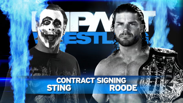 TNA Impact Wrestling Preview: A Contract Signing, Bad Blood, and More