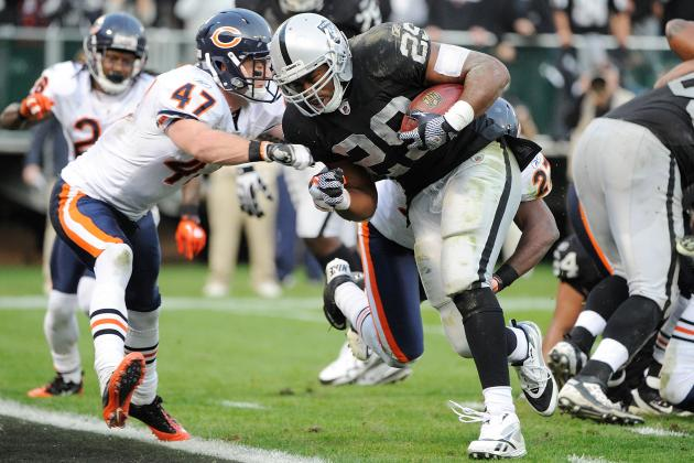 NFL Free Agency Rumors: Michael Bush Would Be Ideal Insurance If Forte Holds out
