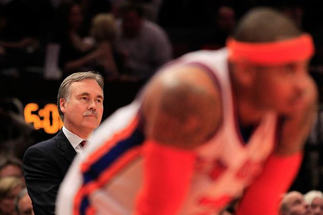 Mike D'Antoni Reportedly Left NY Knicks after Demanding to Trade Carmelo Anthony