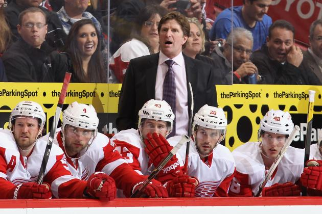 Detroit Red Wings: Hitting Rock Bottom Must Help Return Team to Pre-Slump Form