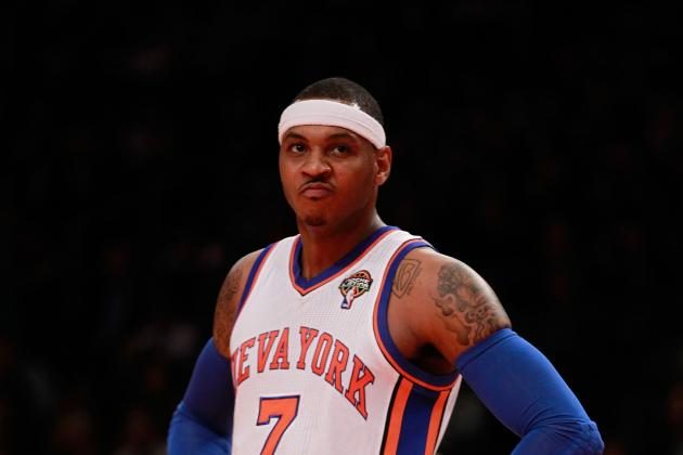 New York Knicks Basketball: Don't Blame Carmelo Anthony for Team's Woes