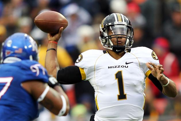 Missouri Tigers Football: James Franklin Injury Puts Pressure on Freshman QB