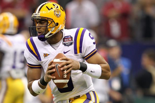 LSU Football: Jordan Jefferson's Best Bet Is to Switch Positions