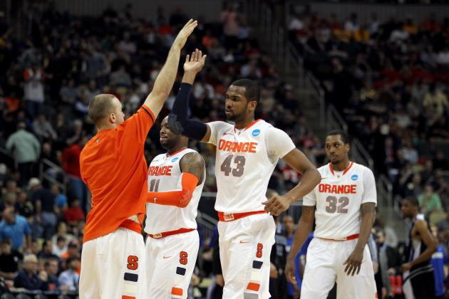 NCAA Tournament Scores: Blown Call Saves Syracuse from Historic 2nd-Round Exit
