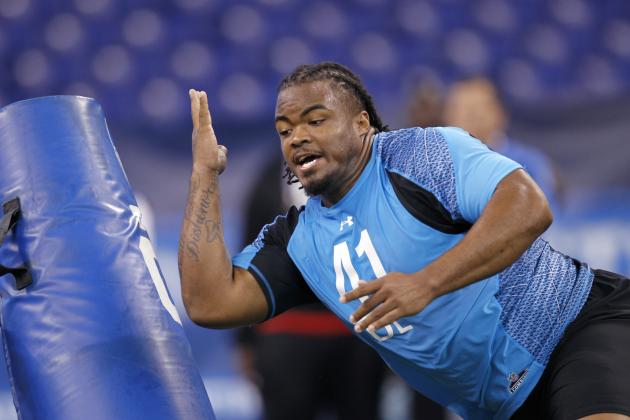 2012 NFL Mock Draft: Dontari Poe and Combine Freaks Who'll Tank