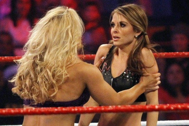 WWE: Beth Phoenix Puts Hands on Maria Menounos, WrestleMania Match Announced