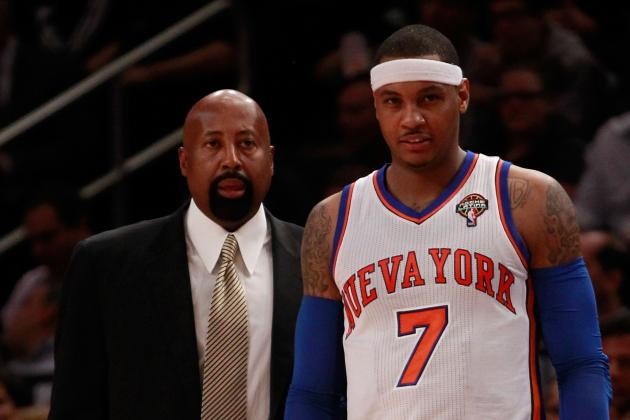 Carmelo Anthony Will Be New York Knicks' Savior by Season's End