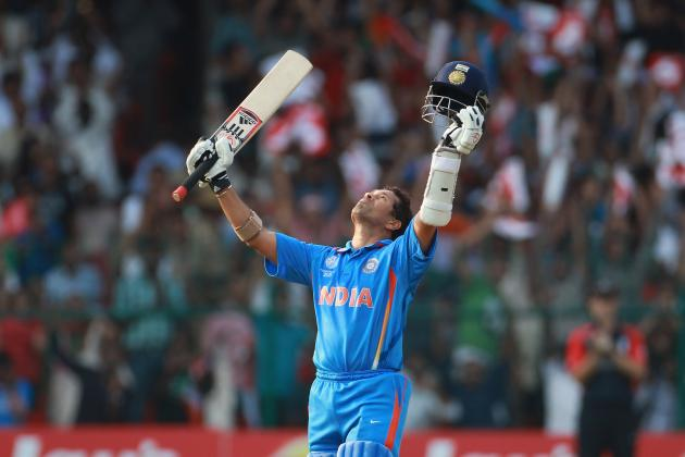Sachin Tendulkar Makes Cricket History by Recording His Hundredth Hundred