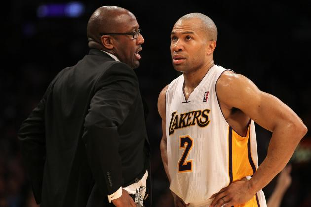 Latest Experts Comments and Laker Reaction to Derek Fisher Trade
