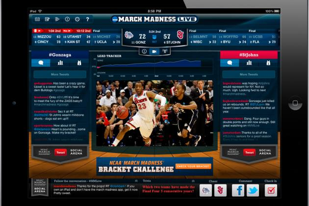 NCAA Tournament 2012: Twitter and Facebook Become Part of the Madness