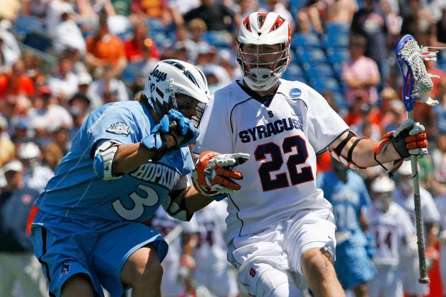NCAA Lacrosse Rivalry Matchup: No. 5 Syracuse Faces No. 2 Johns Hopkins