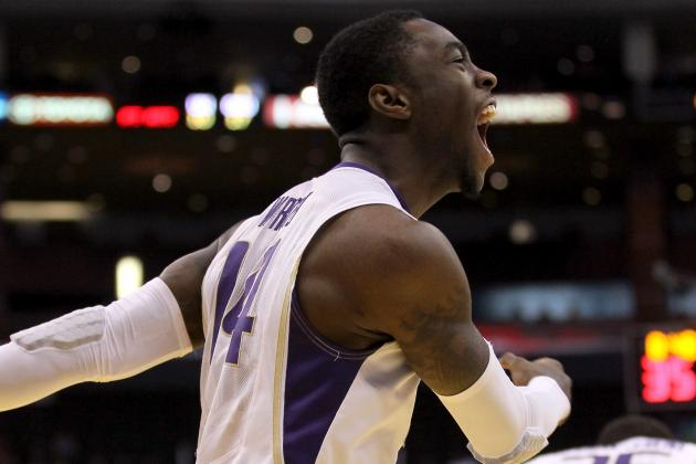 Printable NIT Bracket 2012: No. 1 Seed Washington Advances to Quarterfinals