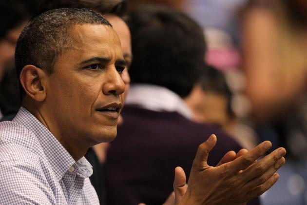 Barack Obama's Bracket: Leader of the Free World Joins Bracket Buster Club