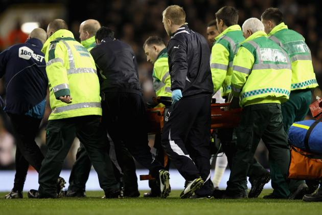Bolton's Fabrice Muamba Collapses on Pitch, Hospitalized in Critical Condition